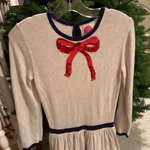 🌲Mini Boden festive dress 🌲- sz 10-12